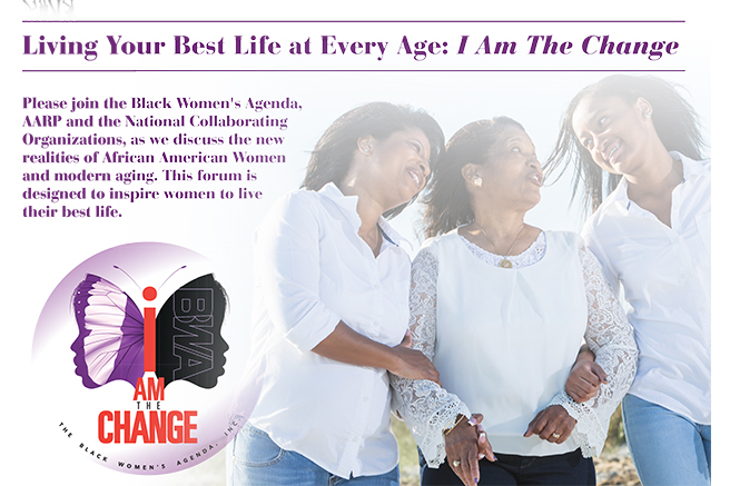 LIVING YOUR BEST LIFE: I AM THE CHANGE FORUM