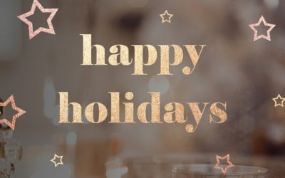 2018 HOLIDAY MESSAGE FROM BWA'S PRESIDENT GWAINEVERE CATCHINGS HESS